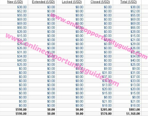 affiliate marketing earnings
