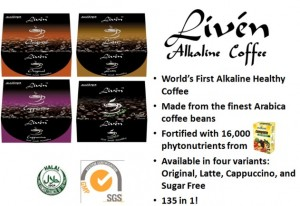 Alkaline Liven Coffee benefits