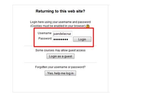tesda online training login