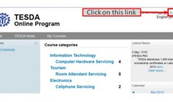 Free TESDA Online Courses