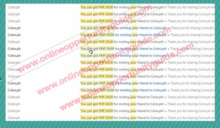 coins ph referral fee