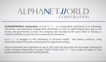 Nworld Nlighten Products and Business opportunity