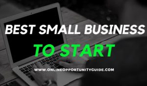 Best Small Business To Start At