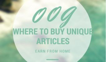 Where To Buy Unique Articles Online