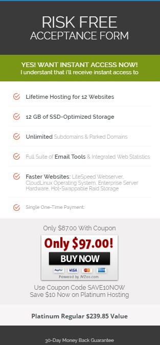 lifetimehosting platinum package