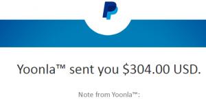 Yoonla Payout
