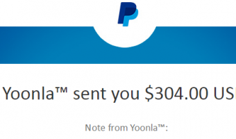 Third Payout From Yoonla