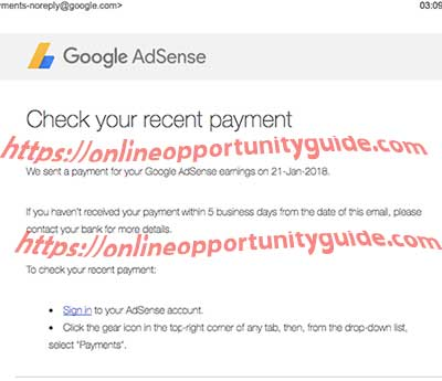 google adsense commission