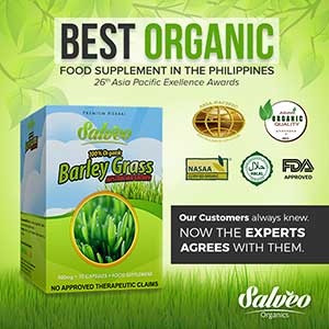 salveo barley grass product